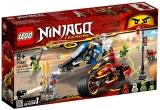 Vehiculele lui Kai si Zane Motociclete Blade si snowmobilul 70667 LEGO Ninjago