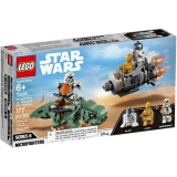 Capsula de salvare contra Dewback Microfighter LEGO Star Wars