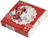 Servetele Minnie 33 x 33 cm, 3 str, 30 buc/set