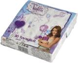 Servetele Violeta 33 x 33 cm, 3 str, 30 buc/set