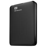 HDD extern 1TB Elements Portable 2.5 USB 3.0 negru Western Digital