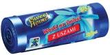Saci menajeri HDLD cu manere albastru 35 L, 20 buc/rola Sweet Home