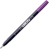 Marker caligrafic Fudenosuke Hard, Vivid 18 Purple, Tombow