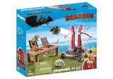 Dragons - Gobber Si Lansatorul De Oi Playmobil
