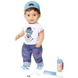 Baby Born - Fratior Interactiv Cu Corp Moale, 43 Cm Zapf