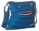 Geanta de umar Monster Mini albastru royal Zipit