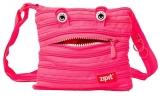 Geanta de umar Monster Mini roz deschis Zipit