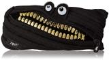 Penar cu fermoar, Grillz Monster, culoare negru cu dinti aurii Zipit