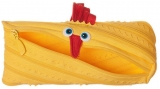 Penar cu fermoar, Animals, model pui, culoare galben Zipit