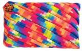 Penar cu fermoar, Pixel Jumbo, culori asortate Zipit