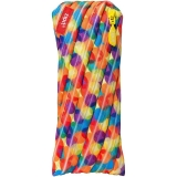 Penar cu fermoar, multicolor flori mari, Colorz Zipit