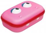 Penar cu fermoar, culoare roz, Beast Storage box Zipit