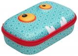 Penar cu fermoar, culoare bleu cu model, Beast Storage box Zipit