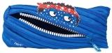 Penar cu fermoar, Talking Monster Pouch, culoare Royal Blue Zipit