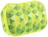 Penar cu fermoar, Colorz Storage box, model triunghiuri verzi Zipit