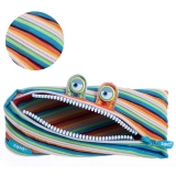 Penar cu fermoar, Monster Special Edition, multicolor Zipit