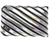 Penar cu fermoar, Metallic Jumbo, culoare argintiu Zipit