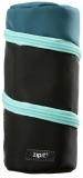 Penar cu fermoar, Looper tube, culoare negru cu albastru Zipit