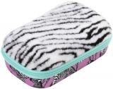 Penar cu fermoar, zebra Fur Zipit