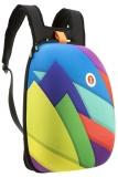 Rucsac 42 cm Shell triunghiuri multicolore Zipit