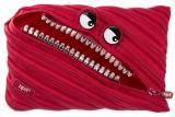 Necessaire grillz monster jumbo rosu Zipit