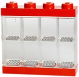 Cutie rosie pentru 8 minifigurine 40650001 LEGO