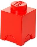 Cutie depozitare 40011730 LEGO 1x1 rosu