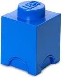 Cutie depozitare 40011731 LEGO 1x1 albastru inchis