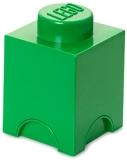 Cutie depozitare 40011734 LEGO 1x1 verde inchis