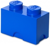 Cutie depozitare 40021731 LEGO 1x2 albastru inchis