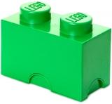 Cutie depozitare 40021734 LEGO 1x2 verde inchis