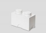 Cutie depozitare 40021735 LEGO 1x2 alb