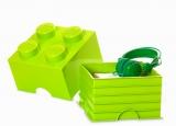 Cutie depozitare 40031220 LEGO 2x2 verde deschis