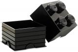 Cutie depozitare 40031733 LEGO 2x2 negru