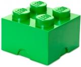 Cutie depozitare 40031734 LEGO 2x2 verde inchis