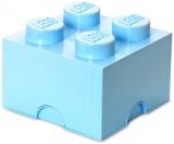 Cutie depozitare 40031736 LEGO 2x2 albastru deschis