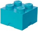 Cutie depozitare 40031743 LEGO 2x2 albastru turcoaz