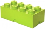 Cutie depozitare 40041220 LEGO 2x4 verde deschis