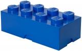 Cutie depozitare 40041731 LEGO 2x4 albastru inchis