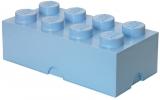 Cutie depozitare 40041736 LEGO 2x4 albastru deschis