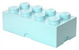 Cutie depozitare 40041742 LEGO 2x4 albastru aqua