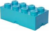 Cutie depozitare 40041743 LEGO 2x4 albastru turcoaz