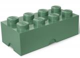 Cutie depozitare 40041747 LEGO 2x4 verde masliniu