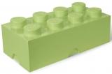 Cutie depozitare 40041748 LEGO 2x4 verde fistic