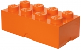 Cutie depozitare 40041760 LEGO 2x4 portocaliu