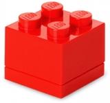 Mini cutie depozitare 40111730 LEGO 2x2 rosu