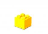 Mini cutie depozitare 40111732 LEGO 2x2 galben