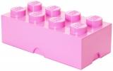 Cutie depozitare 40041738 LEGO 2x4 roz deschis
