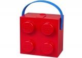 Cutie pentru sandwich 40240001, 2 x 2, rosu LEGO