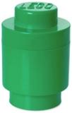 Cutie rotunda depozitare 40301734 LEGO 1x1 verde inchis
